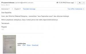 Order terjemahan resmi tersumpah di Semarang